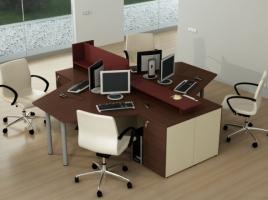 Мебель для персонала КВАРТАЛ Стандарт