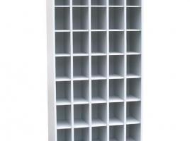 Шкаф для противогазов 35 ячеек