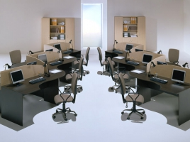 Мебель для персонала СИМПЛ Экостиль (Simple)